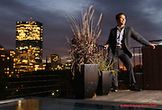 Boston, MA 102209  Ricardo Rodriguez (cq) a South End realtor   was photographed as one 25 Most Stylish 2009 at Felt on October 22, 2009 at 74 Beacon Street in Boston which is a property he is selling. (Essdras M Suarez/ Globe Staff)/ G