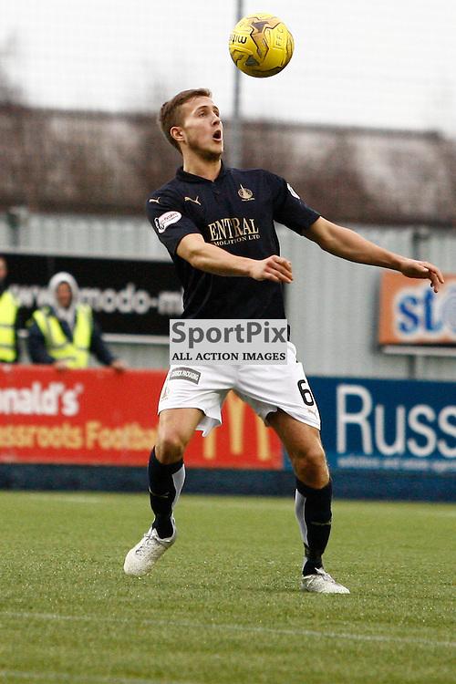 Will Vaulks confident ont he ball in the Falkirk v Rangers Falkirk Stadium 19 December 2015<br /><br />(c) Russell G Sneddon / SportPix.org.uk