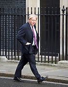 Cabinet Meeting <br /> 10 Downing Street London, Great Britain <br /> 29th March 2017 <br /> <br /> Ministers arrive for the final cabinet meeting ahead of triggering Article 50 today in The House of Commons. <br /> <br /> Boris Johnson <br /> Foreign Secretary <br /> <br /> <br /> Photograph by Elliott Franks <br /> Image licensed to Elliott Franks Photography Services