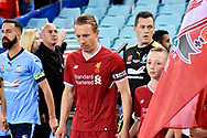May 24, 2017: Liverpool FC player Lucas Leiva (21) at the soccer match, between English Premiere League team Liverpool FC and Sydney FC, played at ANZ Stadium in Sydney, NSW Australia.