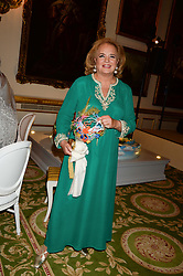 PRINCESS IRA VON FURSTENBERG at The Animal Ball in aid of The Elephant Family held at Lancaster House, London on 9th July 2013.