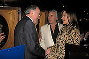 Michael Howard, Peter Stringfellow and Bella Wright. fund raising dinner hosted  by Marco Pierre White and Franki Dettori at  Frankie's. Knightsbridge. 17 January 2004. ONE TIME USE ONLY - DO NOT ARCHIVE  © Copyright Photograph by Dafydd Jones 66 Stockwell Park Rd. London SW9 0DA Tel 020 7733 0108 www.dafjones.com