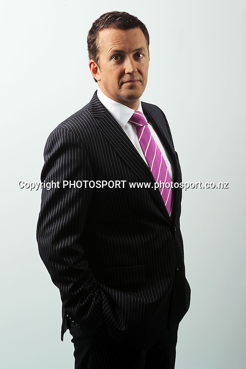 Stephen McIvor, Sky Television presenter, Sky Studios, Auckland, 28 May 2010. Photo: William Booth/PHOTOSPORT