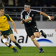 Jeff Allen, New Zealand, in action during the Australia V New Zealand Final match at the IRB Junior World Championships in Argentina. New Zealand won the match 62-17 at Estadio El Coloso del Parque, Rosario, Argentina. 21st June 2010. Photo Tim Clayton..