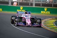 ALBERT PARK, VIC - MARCH 15: Racing Point F1 Team driver Sergio Perez (11) at The Australian Formula One Grand Prix on March 15, 2019, at The Melbourne Grand Prix Circuit in Albert Park, Australia. (Photo by Speed Media/Icon Sportswire)