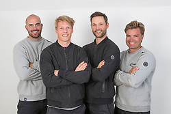 2nd July 2017. GKSS Match Cup Sweden, Marstrand, Sweden. NICKLAS DACKHAMMAR (Second Left) and his team, ESSIQ RACING.