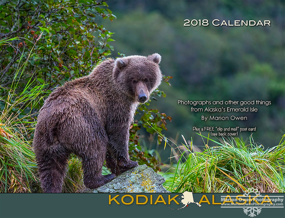 This 28-page wall calendar is created by Marion Owen of Kodiak, Alaska. Each month is a collection of inspiring images and quotes, unique recipes, playful holidays, riddles and word games. Printed in the USA. Includes a free cut-out post card. Hang it anywhere: Your home, RV, sauna, or office. A lovely gift that encourages happiness.<br />