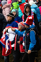 Slovakian fans during the 6th Ladies' Slalom at 55th Golden Fox - Maribor of Audi FIS Ski World Cup 2018/19, on February 2, 2019 in Pohorje, Maribor, Slovenia. Photo by Blaž Weindorfer / Sportida