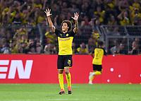 FUSSBALL 1. BUNDESLIGA   SAISON 2019/2020   SUPERCUP FINALE Borussia Dortmund - FC Bayern Muenchen    03.08.2019 JUBEL Axel Witsel (Borussia Dortmund)  DFL regulations prohibit any use of photographs as image sequences and/or quasi-video.