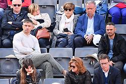 May 19, 2019 - Roma, Italia - Foto Alfredo Falcone - LaPresse.19/05/2019 Roma ( Italia).Sport Tennis.Rafael Nadal (esp) vs Novak Djokovic (srb).Internazionali BNL d'Italia 2019 .Nella foto:kolarov..Photo Alfredo Falcone - LaPresse.19/05/2019 Roma (Italy).Sport Tennis.Rafael Nadal (esp) vs Novak Djokovic (srb).Internazionali BNL d'Italia 2019.In the pic:kolarov (Credit Image: © Alfredo Falcone/Lapresse via ZUMA Press)