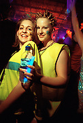 Two girls at a rave, 18/4/1997, V.DANCE