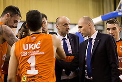 Jure Zdovc, head coach of KK Union Olimpija during Basketballl match between Petrol Olimpija Ljubljana and KK Cedevita in Round #18 of ABA League, on January 27, 2018 in Tivoli sports hall, Ljubljana, Slovenia. Photo by Urban Urbanc / Sportida