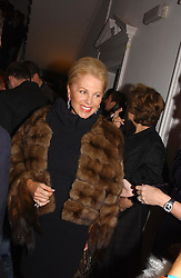 EVA MARIA O'NEILL at a party hosted by jeweller Theo Fennell and Dominique Heriard Dubreuil of Remy Martin fine Champagne Cognac entitles 'Hot Ice' held at 35 Belgrave Square, London, W1 on 26th October 2004.<br />