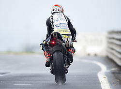 October 21, 2017 - Melbourne, Victoria, Australia - Spanish rider Hector Barbera (#8) of Reale Avintia Racing leaves pit lane during a wet third free practice session at the 2017 Australian MotoGP at Phillip Island, Australia. (Credit Image: © Theo Karanikos via ZUMA Wire)