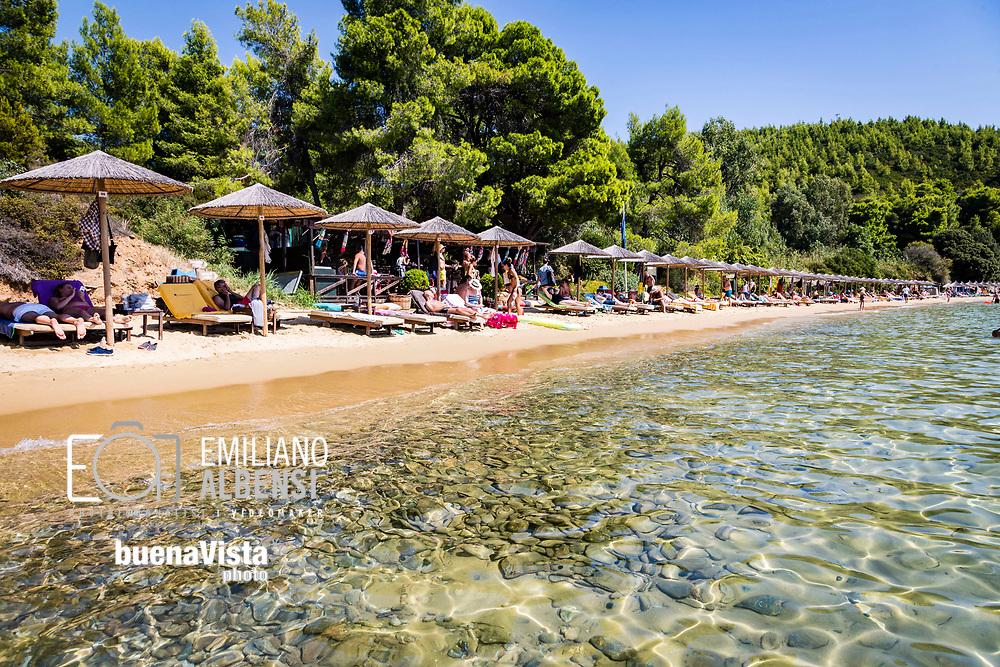 Emiliano Albensi<br /> Settembre 2017<br /> La spiaggia di Diamandis sulla penisola di Kanapitsa<br /> <br /> Emiliano Albensi<br /> September 2017<br /> Diamandis beach on the Kanapitsa peninsula