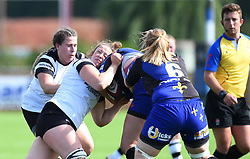 Amelia Buckland-Hurry of Bristol Bears Women in action against Dragons Women - Mandatory by-line: Paul Knight/JMP - 02/09/2018 - RUGBY - Shaftsbury Park - Bristol, England - Bristol Bears Women v Dragons Women - Pre-season friendly
