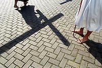 Religious procession, Veurne, Belgium.