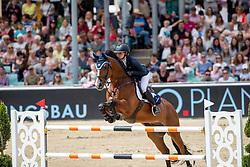 Hinners Sophie (GER), Vittorio 8 <br /> Balve - Longines Optimum 2019<br /> Deutsche Meisterschaft Springen Damen<br /> Finalwertung mit 2 Umläufen<br /> 15. Juni 2019<br /> © www.sportfotos-lafrentz.de/Stefan Lafrentz