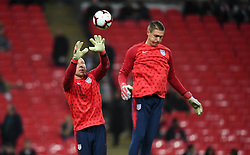 November 15, 2018 - London, England - London, England - Thursday November 15, 2018: The men's national teams of the United States (USA) and England (ENG) play in an international friendly game at Wembley Stadium. (Credit Image: © Brad Smith/ISIPhotos via ZUMA Wire)