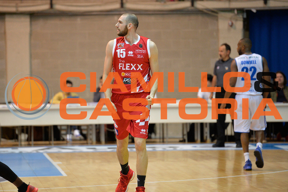 Crosariol Andrea<br /> Red October Cantu' vs The Flexx Pistoia<br /> Lega A  2016/2017<br /> Desio 15/04/2017<br /> Foto Ciamillo-Castoria<br /> Provvisorio