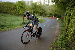 Hanna Solovey at the Prologue of Festival Elsy Jacobs 2017. A 2.8 km individual time trial on April 28th 2017, in Cessange, Luxembourg. (Photo by Sean Robinson/Velofocus)