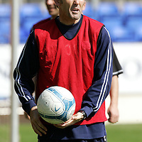 St Johnstone Training...27.04.07<br />Owen Coyle during training this morning before tomorrow's first division title clinc game against Hamilton.<br />see story by Gordon Bannerman Tel: 01738 553978 or 07729 865788<br />Picture by Graeme Hart.<br />Copyright Perthshire Picture Agency<br />Tel: 01738 623350  Mobile: 07990 594431
