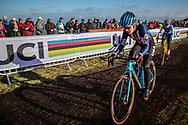 Clara HOSINGER (USA)  at the 2019 UCI Cyclo-Cross World Championships in Bogense, Denmark