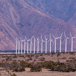 Wind farm at Cabazon, CA