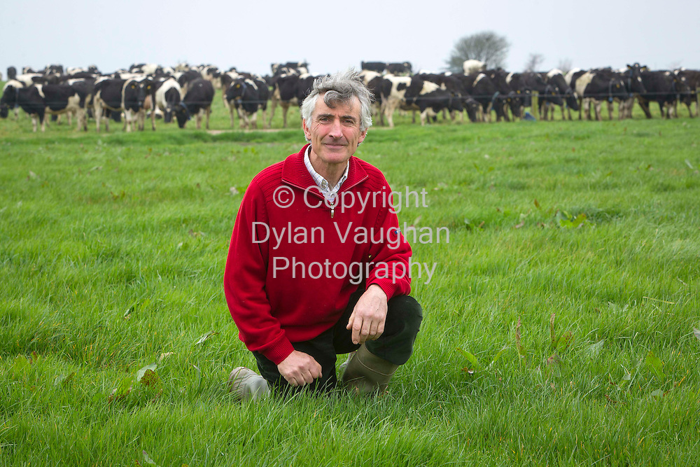 14/3/2013.no charge for media repro..Major Planning and On-Farm Investment needed to deliver 50% Dairy Expansion-Kiersey..IFA National Dairy Committee Chairman Kevin Kiersey pictured yesterday on his Farm near Kilmacthomas Co Waterford...Picture Dylan Vaughan.