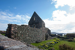 Iona Nunnery..Iona is a small island in the Inner Hebrides off the western coast of Scotland. It was a centre of Irish monasticism for four centuries and is today renowned for its tranquility and natural beauty..©Michael Schofield..