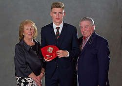 NEWPORT, WALES - Saturday, May 21, 2016: Brandon Cooper at the Under-16's cap presentation at the Celtic Manor Resort. (Pic by David Rawcliffe/Propaganda)