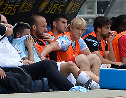 May 6, 2018 - Rome, Lazio, Italy - Luis Alberto leaves the field for  accident during the Italian Serie A football match between S.S. Lazio and Atalanta at the Olympic Stadium in Rome, on may 06, 2018. (Credit Image: © Silvia Lore/NurPhoto via ZUMA Press)