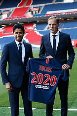 Paris Saint-Germain newly appointed coach German Thomas Tuchel 21 May 2018