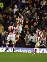 Photo: Rich Eaton.<br /> <br /> Wolverhampton Wanderers v Sunderland. Coca Cola Championship. 24/11/2006. Stephen Elliott celebrates his second half goal