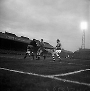 08/04/1964<br /> 04/08/1964<br /> 08 April 1964<br /> European Nations Cup second leg: Ireland v Spain at Dalymount park, Dublin.  Spain beat Ireland 2-0 in the second leg of the European Nations Cup.
