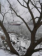 Vikingline passerar Blockhusudden.