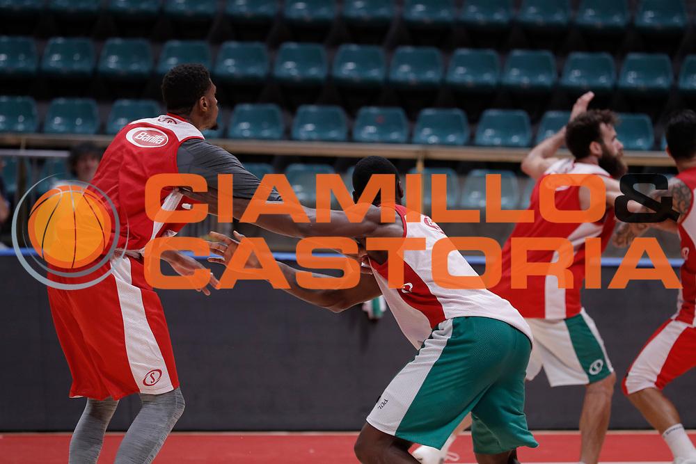 Biligha Paul,Brooks Jeff<br /> Nazionale Senior maschile<br /> Allenamento<br /> World Qualifying Round 2019<br /> Bologna 12/09/2018<br /> Foto  Ciamillo-Castoria / Giuliociamillo