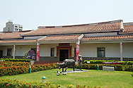 The Kaohsiung Hakka Culture Center was designed like a traditional farmhouse.