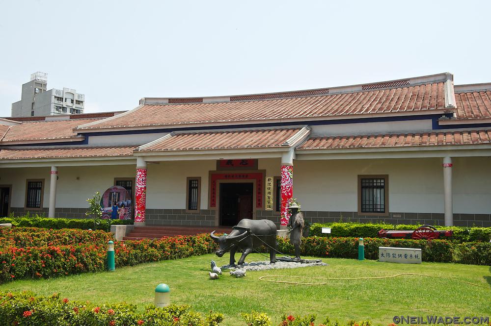 The Kaohsiung Hakka Culture Center was designed like a traditional farmhouse.