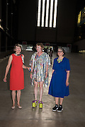 JUDITH NESBITT; GRAYSON PERRY; PHILIPPA PERRY, The £100,000 Art Fund Prize for the Museum of the Year,   Tate Modern, London. 1 July 2015