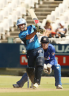 Albie Morkel during the first leg of the semi-final in the Standard Bank Pro20 series between the Nashua Mobile Cape Cobras and the Nashua Titans played at Sahara Park Newlands in Cape Town, South Africa on 27 February 2011. Photo by Jacques Rossouw/SPORTZPICS