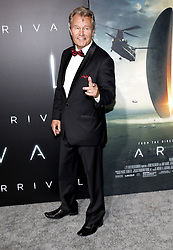 John Savage at the Los Angeles premiere of 'Arrival' held at the Regency Village Theater in Westwood, USA on November 6, 2016.