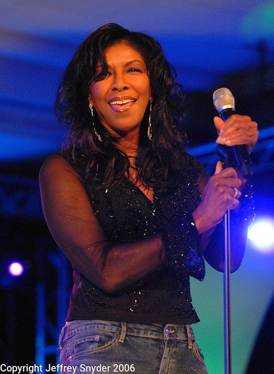 Natalie Cole at the Radio One 25th Anniversary Celebration.