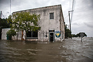 Floodwaters from Lake Pontchartrain  push into Donz On The Lake, in Mandeville on the lake's northshore on July 13 when Tropical Storm Barry reached Hurricane status.  This area often floods when big storms hit the region.