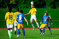 Alen Krcic of Bravo during football match between NK Bravo and NK Celje in 13th Round of Prva liga Telekom Slovenije 2019/20, on October 5, 2019 in ZAK stadium, Ljubljana, Slovenia. Photo by Vid Ponikvar / Sportida