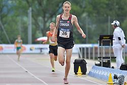 06/08/2017; Gingras, Zachary, T38, CAN at 2017 World Para Athletics Junior Championships, Nottwil, Switzerland