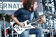 Coheed and Cambria perform at Pointfest 26 at Verizon Wireless Amphitheater in St. Louis on June 6, 2010