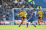 Burnley midfielder Joey Barton (13) during the Sky Bet Championship match between Brighton and Hove Albion and Burnley at the American Express Community Stadium, Brighton and Hove, England on 2 April 2016. Photo by Phil Duncan.