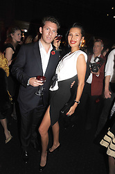 NICK CANDY and GOGA ASHKENAZE at the Tatler Magazine Little Black Book party at Tramp, 40 Jermyn Street, London SW1 on 5th November 2008.