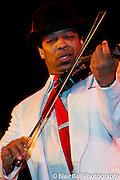 Memphis International Blues Challenge held on Beale Street in Memphis, Tennessee.